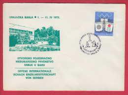 176692  / 1973 - Chess Échecs Schach - OFFENE INTERNATIONALE SCHACH EINZELMEISTERSCHAFT VON SERBIEN Yugoslavia - Schaken