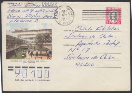 1983-EP-70 CUBA 1983. Ed.193a. POSTAL STATIONERY. ENTERO POSTAL. J. MARTI. ESCUELA BATALLA DE JIGUE. C. CLASIF NACIONAL. - Cuba