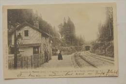 39 - Environs De Morez - Une Gare En Forêt Au Col De La Savine - Clairvaux Les Lacs