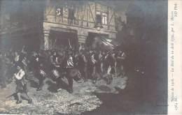 Salons 1908, La Nuit Du 10 Août 1792, Par L. Massin - Histoire