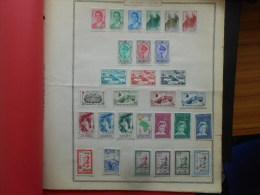 Collection De Timbres Neuf* Du MAROC Sur Pages D'ALBUM - Sammlungen (im Alben)
