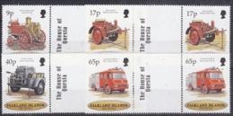 Falkland Islands 1998 Fire Service 4v Gutter  ** Mnh (22723) - Falklandeilanden
