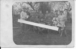 1916 1orchestre De Tranchée Allemand Contrebasse Accordéon Cymbales Avec Une Jeune Fille 1 Carte Photo 14-18 Ww1 Wk1 - War, Military