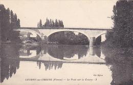 86. LEUGNY SUR CREUSE. PONT SUR LA CREUSE - France