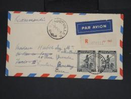 CONGO BELGE - Enveloppe En Recommandée De Jadotville Pour La France En 1946 - à Voir - Lot P7366