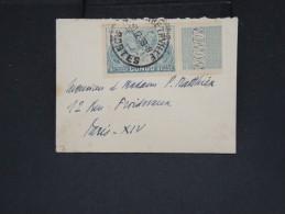 CONGO BELGE - Enveloppe ( Format Carte De Visite) De Elisabethville Pour La France En 1936 - à Voir - Lot P7367
