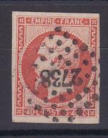 NAPOLEON N° 16 OBL - 1853-1860 Napoleone III