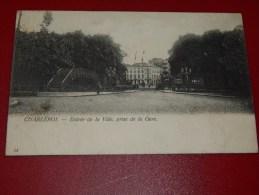 CHARLEROI   -  Entrée De La Ville , Prise De La Gare   -  1910 -  (2 Scans) - Charleroi