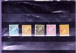 NOUVELLE CALEDONIE  : Y&T : 95 à 97*-99*-100* - Nieuw-Caledonië
