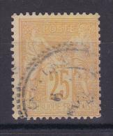 SAGE N° 92 CACHET POINTILLE - 1876-1898 Sage (Tipo II)