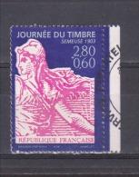 FRANCE / 1996 / Y&T N° 2990a : J. Du Timbre (Semeuse) Avec Surtaxe De Carnet (avec Bord) - Choisi - Cachet Rond - France