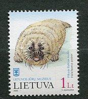 (cl. 8 - p12) Lituanie ** n� 645 (ref. Michel au dos) - Phoque  -