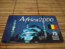 Prepaidcard Africa 75 Unites 2 Scans Used