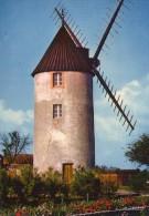 Moulin à Vent , Windmill , St-Esprit , Vendée , Bâtiments , Architecture , Grenier , Farine , Meunier  Grains Blé - Moulins à Vent