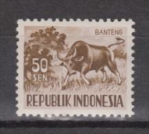 Indonesia Indonesie Nr. 173 MNH ; Koe, Cow , La Vache, Vaca, BANTENG - Koeien
