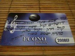 Econo Phone Music Note 200 Bef Used Very Rare