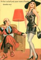 Illustrateurs - Illustrateur Louis Carrière - Humour - Humoristique - Femmes - Chapeaux - Femme Avec Chapeau - Pin Ups - Carrière, Louis