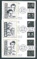 5 Envelloppes  Premier Jour  Série   N°2433 A 2442   20/9/1987 - FDC