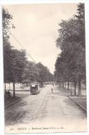 CPA Rouen 76 Seine Maritime Boulevard Jeanne D' Arc Tramway édit LL N°282 Très Bon état Non écrite - Rouen