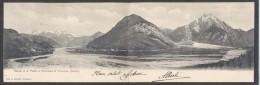 6984-TOLMEZZO(UDINE)-CANALE DI S.PIETRO E PANORAMA-1904-FP-DOPPIA - Udine
