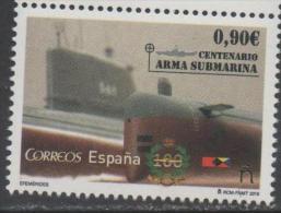 SPAIN, 2015, MNH, SUBMARINES, MILITARY. 1v - Duikboten