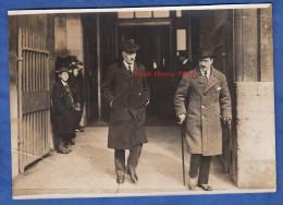 Photo Ancienne - PARIS - Hotel Crillon - Sortie Du Ministre Italien Léonida Bissolati - 16 Février 1917 - WW1 - Italia - Guerra, Militares
