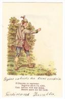 AK CH GR 18.3.1900 Ges.  Motiv Jäger Karte - GR Grisons