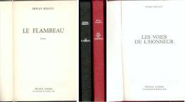 """Lot De Deux Livres Reliés GUERRE D ALGERIE """" LE FLAMBEAU Et LES VOIES DE L'HONNEUR"""" - Boeken"""