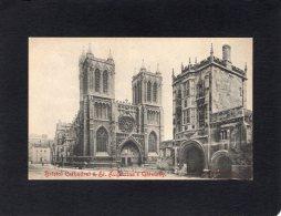 """54854   Regno  Unito,   Bristol  Cathedral  &  St.  Augustine""""s Gateway,  NV - Bristol"""