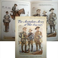"Livre Uniformes ""THE AUSTRALIAN ARMY AT WAR 1899 - 1975"" - Uniformes"