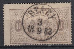 ZWEDEN - Michel - 1874 - Nr 9A (T/D 14) - Gest/Obl/Us - Service