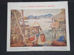 VIET-NAM - Carte Postale De La Baie D' Along  De La Cie Messagerie  Maritime 1935  - à Voir - Lot P7386 - Cartes Postales