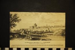 CP, 21, DIJON Ancien Vue De La Porte Saint Nicolas Au XVIIIe Siècle N° 33 Vierge - Dijon