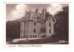 22 Boqueho Chateau De La Madeleine Cachet Boqueho 1958 - Autres Communes
