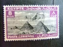 EGIPTO - EGYPTE - EGYPT - UAR 1933-38 Yvert Nº PA 12 º FU - Poste Aérienne