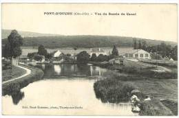 Pont D'Ouche - Vue Du Bassin Du Canal - France