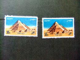 EGIPTO - EGYPTE - EGYPT - UAR 1982 Yvert Nº PA 173 / 73 A º FU - Poste Aérienne