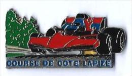 F1 - K25 - COURSE DE COTE LAPIZE - Verso : SM - F1