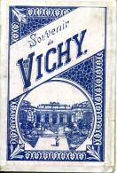 N°43608 -souvenir De Vichy  -petit Dépliant De Photos - Vichy