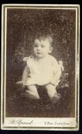 Photo CDV Photographe Pipaud Nantes Albuminée Circa 1880   Mars Phot7-1 - Photographs