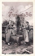 (19) Types Du Pays Paysannes Fermieres - A La Pompe - La Causette - 2 SCANS - Fermes