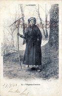 (19) Type Du Pays - Villageoise D´autrefois - éd. à Ussel - 2 SCANS - Agriculture