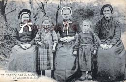 (19) Types Du Pays - Paysannes Du Centre En Costumes Du Pays - éd. à Brive - 2 SCANS - Agriculture