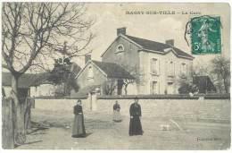 Magny Sur Tille - La Cure ( Tampon Au Verso : Magny Fauverney PLM ) - France