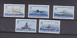Turkey 965 Battle Ships 5v ** Mnh (22742) - 1921-... Republic