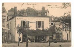 44 PORNIC Le Cafe De L Ecu De France - Pornic