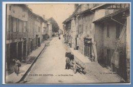 01 - SAINT TRIVIER De COURTES -- La Grande Rue - Francia
