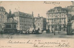 AUTRICHE - VIENNE - WIEN - Am Hof - Vienne
