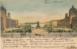 AUTRICHE - VIENNE - WIEN - Maria Theresienplatz - Vienne