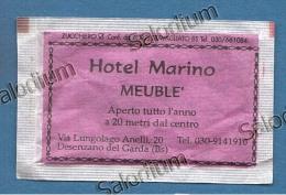 Desenzano Del Garda - Hotel Marino + Antiquariato - Bustina Di Zucchero Vuota - Sugar Empty - Sugars